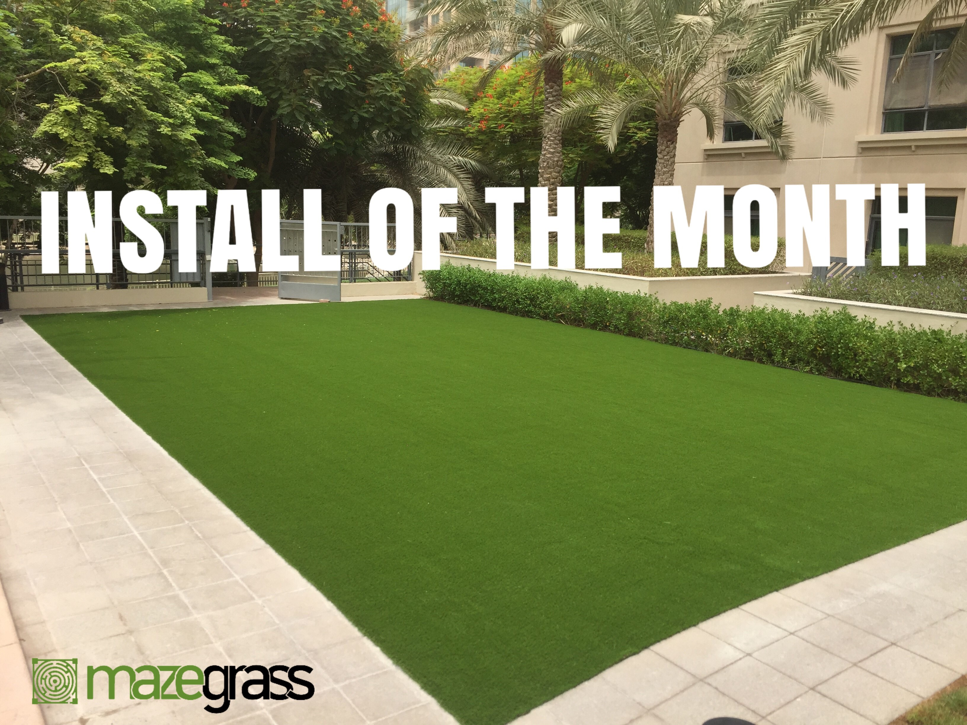 Installation of the month - August 2018