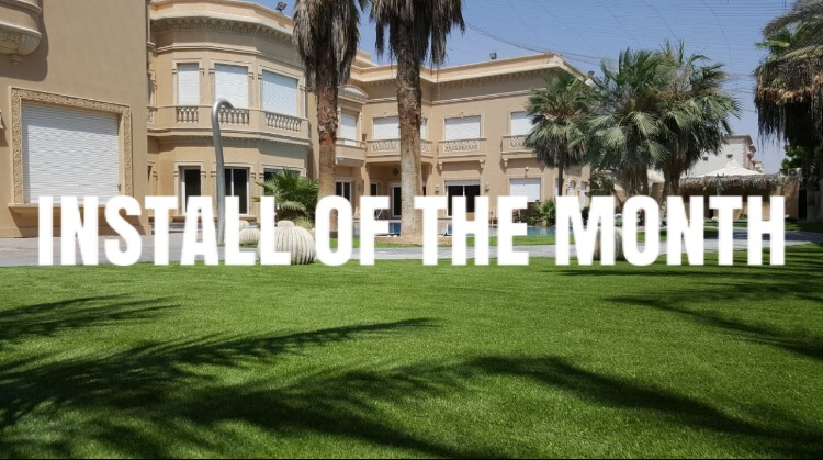 Installation of the month - July 2018